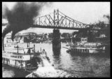 Steamboats on the Ohio River