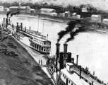 Unidentified steamboats