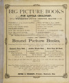 Big picture books for little children : comprising Cinderella, or, The glass slipper...