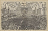 02a. May 14, 1878. Music Hall interior filled to capacity